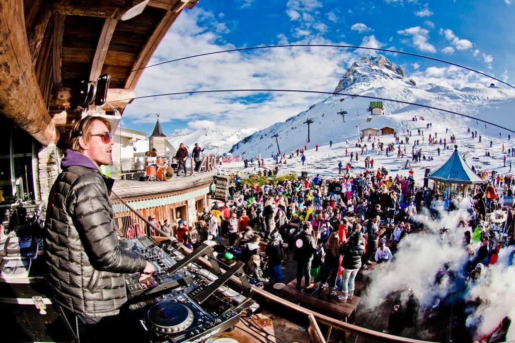 Ungdoms ferie - Afterski party i Alperne