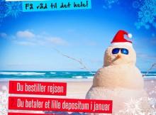 Uptours December Vinter Tilbud - Til sydens sommer og sol i 2015