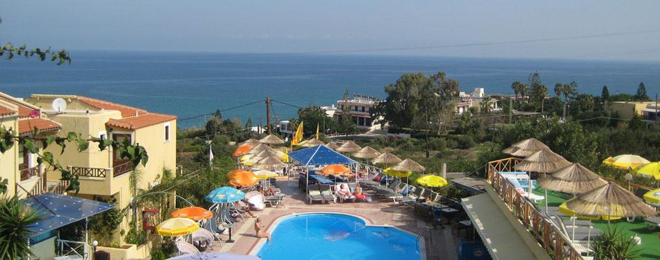 Billige ungdomsrejser i august - Sun Club Olympia, Hersonissos (Kreta)